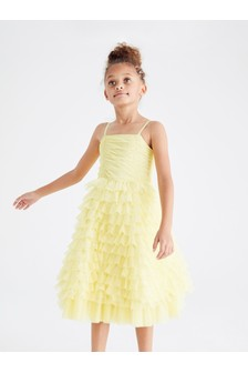 Tulle Tiered Party Dress (3-16yrs)
