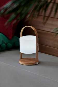 Wood Handle Outdoor Lighting