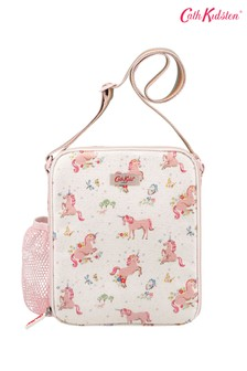 Cath Kidston® Kids White Unicorn Meadow Lunchbag