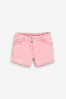 Coloured Denim Shorts (3-16yrs)