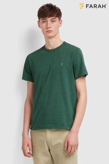 Farah Green Dennis Short Sleeved T-Shirt