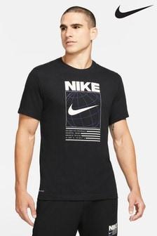 Nike Dri-FIT Globe Print Training T-Shirt
