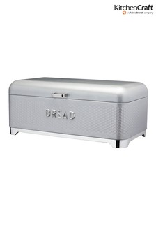 Kitchencraft Lovello Grey Bread Bin