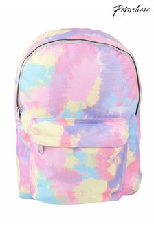 Paperchase Pastel Tie Dye Backpack