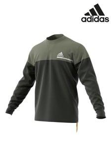 adidas Khaki Z.N.E Crew Sweater