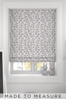 Lucerne Mauve Purple Made To Measure Roman Blind