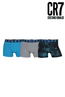 CR7 Cotton Fashion Trunks 3 Pack
