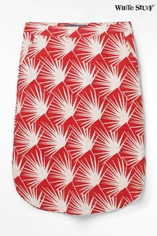 White Stuff Red Kuma Skirt