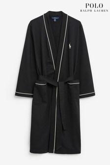Polo Ralph Lauren Lightweight Jersey Logo Kimono Dressing Gown