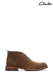 Clarks Mink Clarkdale Base Boots