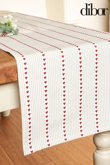 Set of 4 Country Heart Table Linen by Dibor