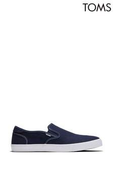 TOMS Blue Baja Slip-On Shoes