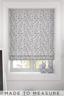 Lucerne Flint Grey Made To Measure Roman Blind