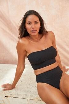 Longline Bandeau Bikini Top