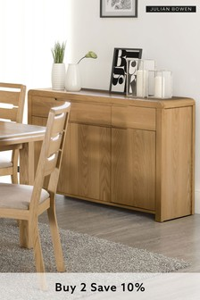 Kemble Curve Sideboard by Julian Bowen
