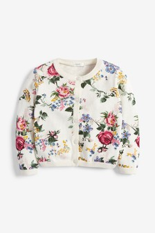 Floral Print Cardigan (3mths-10yrs)
