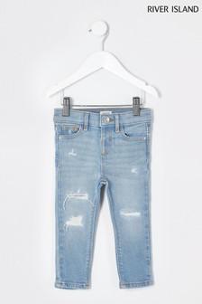 Niebieskie jeansy River Island Amelie