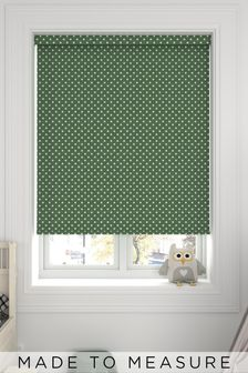 Twinkle Green Made To Measure Roller Blind