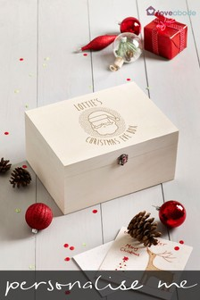 Personalised Santa Christmas Eve Box by Loveabode