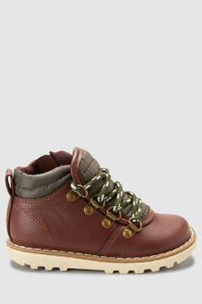 Hiker Lace Boots (Younger)
