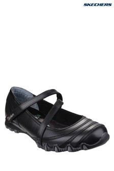 Skechers® Black Bikers Shoes