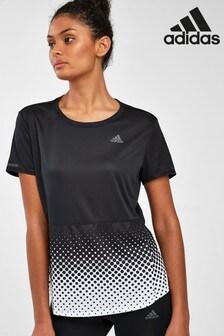 adidas Black Spot Fade Own The Run T-Shirt