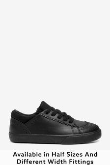 Lace-Up Brogue Shoes