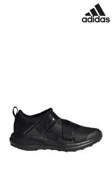 adidas Run Black/White FortaRun X Junior & Youth Trainers