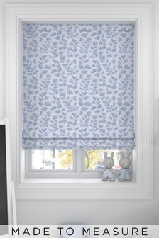 Lucerne Sky Blue Made To Measure Roman Blind