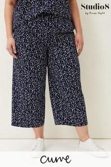 Studio 8 Blue Carin Spot Culotte Trousers
