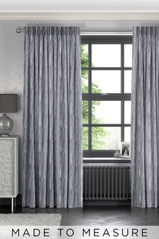 Roberta Sky Blue Made To Measure Curtains