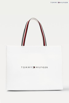 Tommy Hilfiger White Shopping Bag