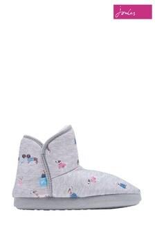 Joules Grey Slipper Socks