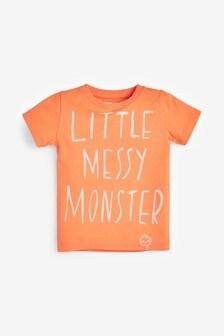 Little Messy Monster T-Shirt (3mths-7yrs)