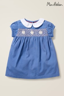 Boden Blue Smock Dress