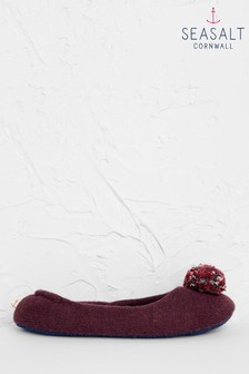 Seasalt Purple Contentment Slippers