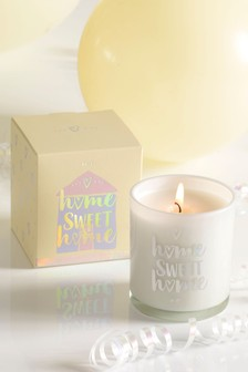Sherbet Lemon Home Sweet Home Candle