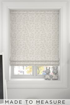 Lucerne Oyster Natural Made To Measure Roman Blind