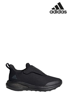 adidas Run Black FortaRun Junior and Youth Trainers