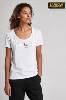 Barbour® International Metallic Logo Fullcourt T-Shirt
