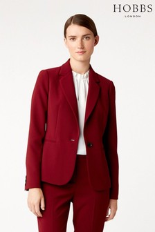 Hobbs Red Tamsin Jacket