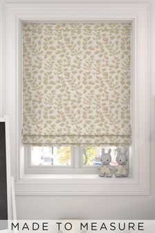 Lucerne Brass Gold Made To Measure Roman Blind