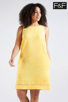 F&F Plain Linen Tunic