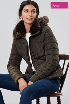 Joules Gosway Chevron Padded Jacket