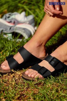 Birkenstock® Black Arizona Sandals