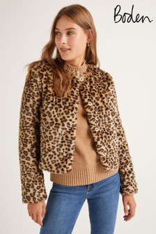 Boden Animal Palmer Coat
