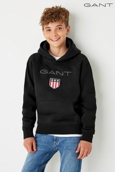 GANT Boys Shield Logo Sweat Hoody