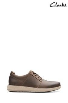 Clarks Brown Un Larvik Lace Shoes