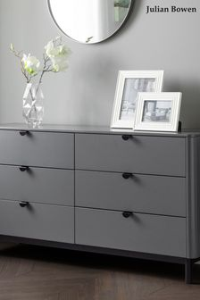 Chloe 6 Drawer Chest by Julian Bowen