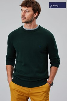 Joules Jarvis Cotton Crew Neck Jumper